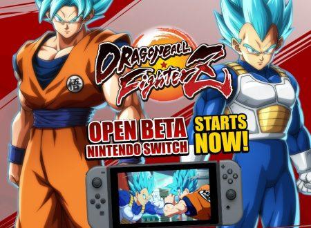 Dragon Ball FighterZ: uno sguardo in video alla Open Beta su Nintendo Switch