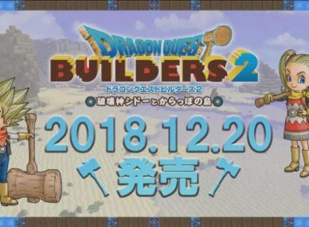 Dragon Quest Builders 2: il titolo è in arrivo il 20 dicembre sui Nintendo Switch giapponesi