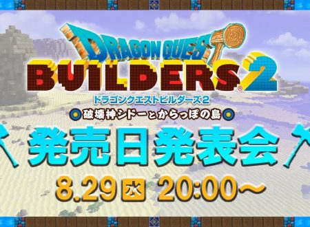 Dragon Quest Builders 2: uno streaming rivelerà la data di uscita del titolo