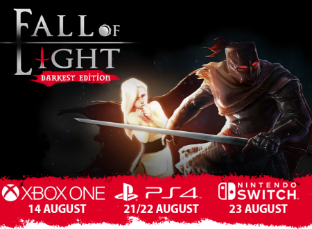 Fall of Light: Darkest Edition, il titolo è in arrivo il 23 agosto sull'eShop di Nintendo Switch