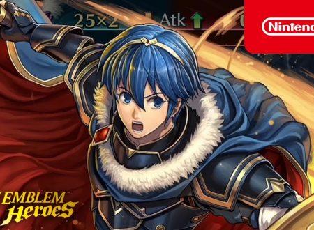 Fire Emblem Heroes: svelato l'evento evocazione Eroi leggendari: Marth, il re eroico