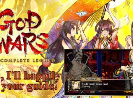 "GOD WARS The Complete Legend: pubblicato il trailer ""Yes, I'll happily be your guide!"""