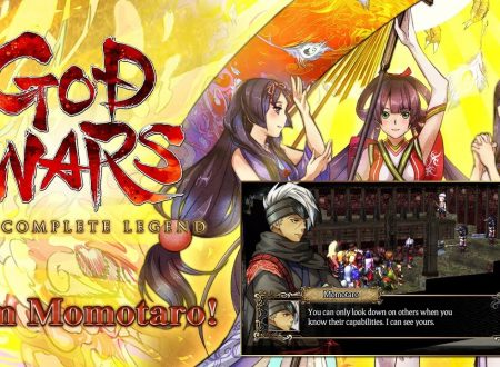 GOD WARS The Complete Legend: pubblicato un trailer dedicato a Momotaro