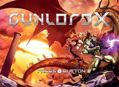 Gunlord X: il titolo è ufficialmente in arrivo sull'eShop di Nintendo Switch