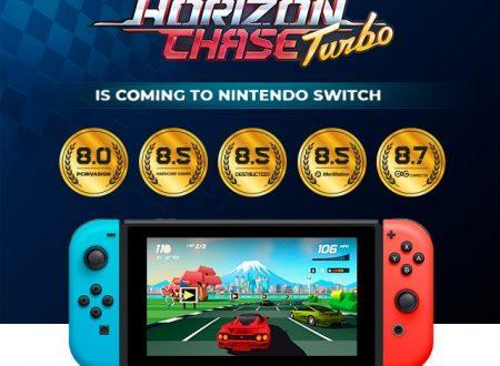 Horizon Chase Turbo: il titolo sarà giocabile durante il Gamescom 2018