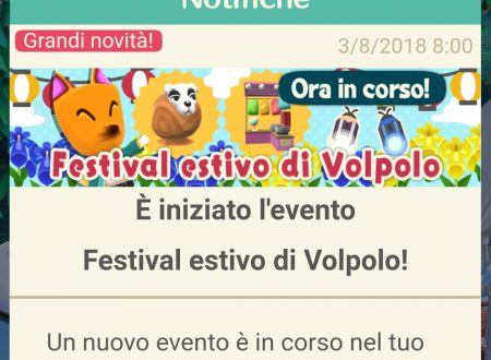 Animal Crossing: Pocket Camp, ora disponibile il Festival estivo di Volpolo