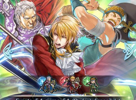 Fire Emblem Heroes: disponibile la preferenza evocazione giornaliera 3: eroi con Furia