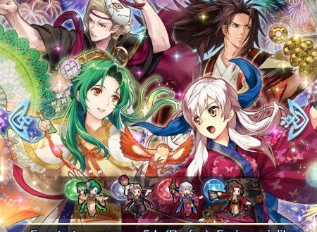 Fire Emblem Heroes: ora disponibili gli eroi speciali: Hoshido in festa