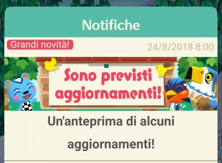 Animal Crossing: Pocket Camp, tutte le novità del prossimo update, presto disponibile