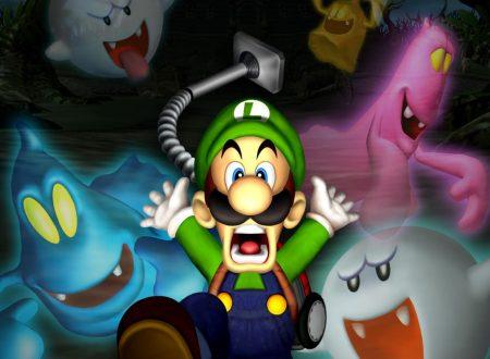 Luigi's Mansion: il titolo sarà disponibile il 19 ottobre sui Nintendo 3DS europei
