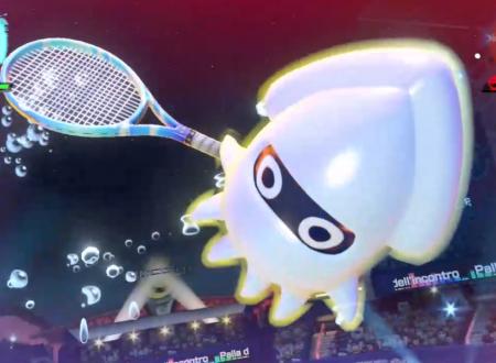 Mario Tennis Aces: uno sguardo in video a Calamako nel torneo di agosto