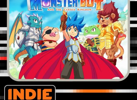 Monster Boy and the Cursed Kingdom, il titolo è finalmente in arrivo il 6 novembre su Nintendo Switch