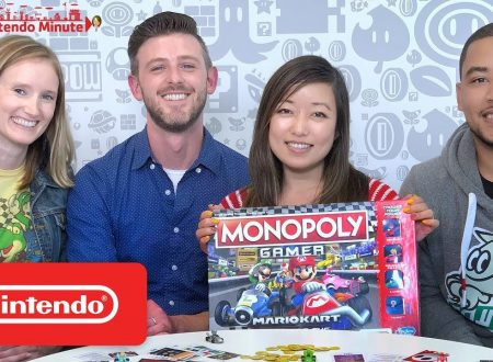 Nintendo Minute: un'occhiata in video al Monopoly Gamer: Mario Kart con Kit e Krysta