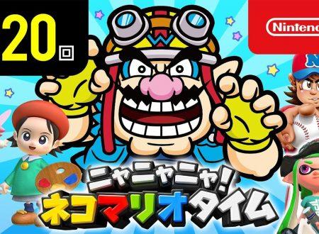 Nyannyan Neko Mario Time: pubblicato l'episodio 120 dello show felino con Mario e Peach