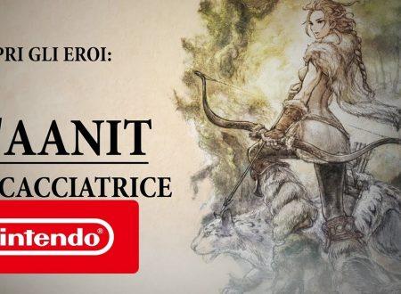 Octopath Traveler: pubblicato un nuovo trailer dedicato a H'aanit, la Viandante