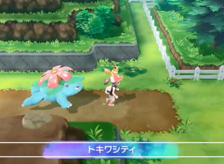 Pokemon Let's Go! Pikachu e Eevee: mostrati in video Venusaur, Caterpie, Onix, Electrode e Golem come Pokèmon compagni