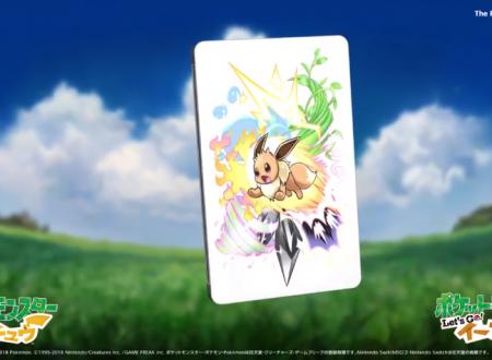 Pokemon Let's Go! Pikachu e Eevee: un video ci mostra la possibile steelbook di Eevee e Pikachu