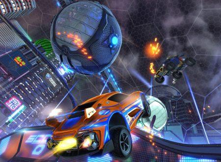 Rocket League: il titolo aggiornato alla versione 1.1.0 sui Nintendo Switch europei
