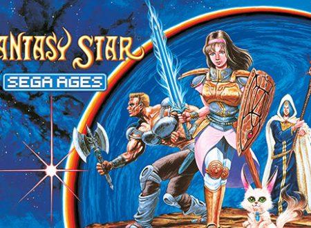 SEGA Ages: Phantasy Star è in arrivo a settembre su Nintendo Switch