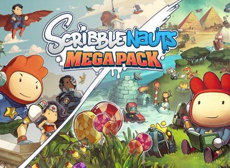Scribblenauts Mega Pack: pubblicato il trailer di lancio del titolo su Nintendo Switch