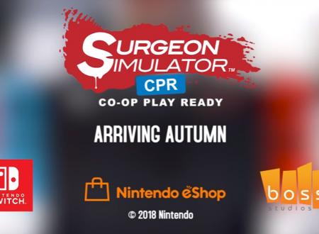 Surgeon Simulator CPR: pubblicato il primo trailer della versione Nintendo Switch