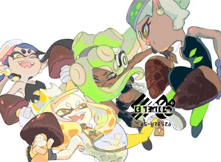 Splatoon 2: mostrato l'artwork ufficiale dello Splatfest giapponese, Meiji Mushroom Mountain o Meiji Bamboo Shoot Field?