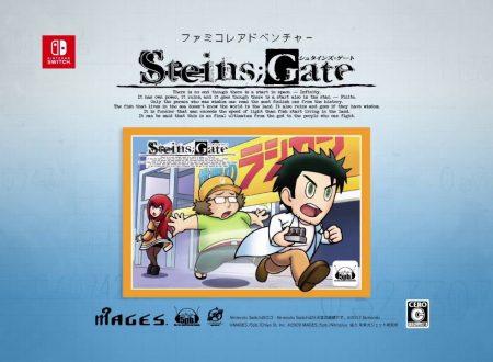 Steins;Gate Elite, pubblicato un video promo su ADV STEINS;GATE, il bonus 8-bit nel titolo