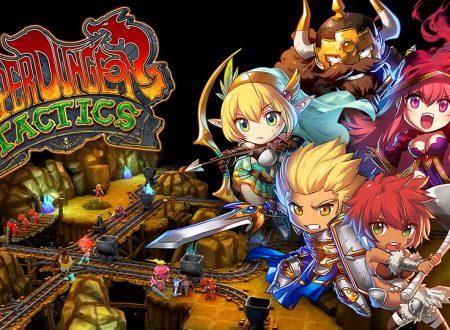 Super Dungeon Tactics: il titolo è in arrivo il 13 settembre sull'eShop di Nintendo Switch