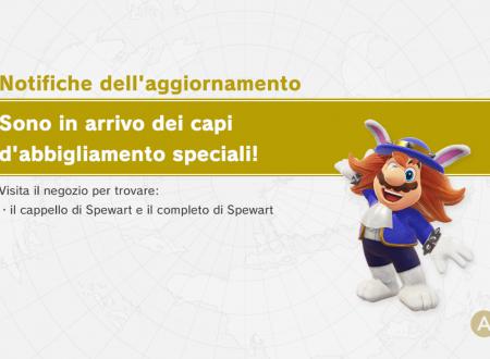 Super Mario Odyssey: il cappello e il completo di Spewart sono ora disponibili nel titolo