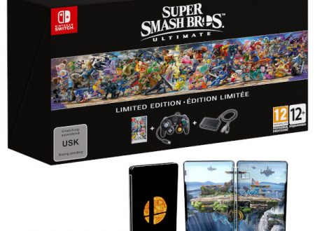 Super Smash Bros. Ultimate: la Limited Edition è in preorder sul Nintendo UK Store