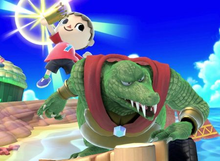 Super Smash Bros. Ultimate: novità del 10 agosto, King K. Rool e il Cannondrillo
