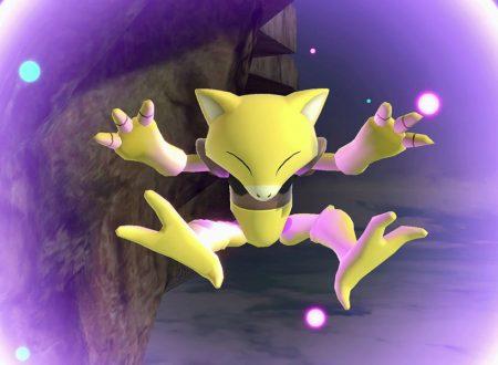Super Smash Bros. Ultimate: novità del 13 agosto, Abra, il Pokèmon strumento telecinetico