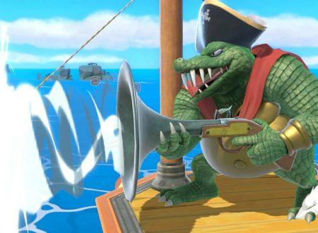 Super Smash Bros. Ultimate: novità del 15 agosto, pubblicato il leggendario brano: Gang-Plank Galleon da Donkey Kong Country
