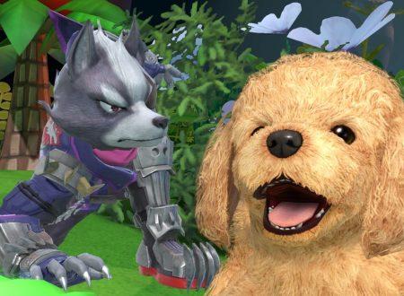Super Smash Bros. Ultimate: novità del 31 agosto, Wolf, leader del team di mercenari Star Wolf