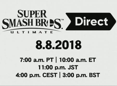 Svelato un nuovo Nintendo Direct dedicato a Super Smash Bros. Ultimate il prossimo 8 agosto