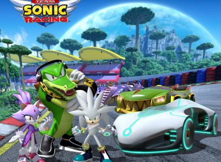 Team Sonic Racing: annunciata la presenza di Blaze the Cat, Silver the Hedgehog e Vector the Crocodile