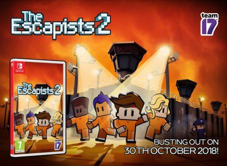 The Escapists 2: il titolo sarà disponibile in formato retail dal 30 ottobre sui Nintendo Switch europei