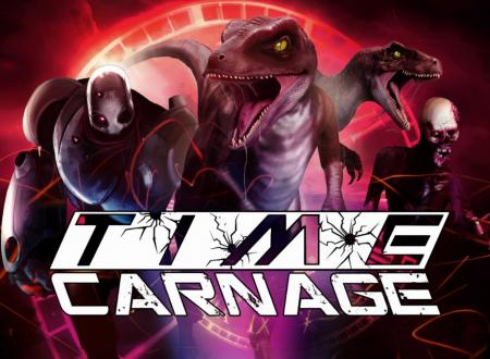 Time Carnage: il titolo è in arrivo il 12 settembre sull'eShop di Nintendo Switch