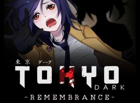 Tokyo Dark: Remembrance annunciato e in arrivo in inverno sui Nintendo Switch giapponesi