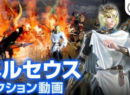 Warriors Orochi 4: svelata la presenza di Perseus nel titolo in un video livestream