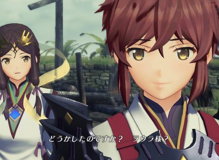 Xenoblade Chronicles 2: Torna – The Golden Country, l'account Twitter giapponese ci introduce Haze, Jin e Lora