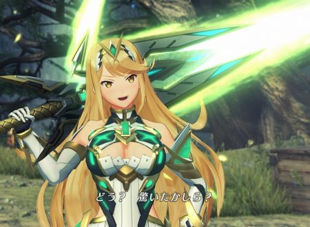 Xenoblade Chronicles 2: Torna – The Golden Country, l'account Twitter giapponese ci introduce Mythra e Addam