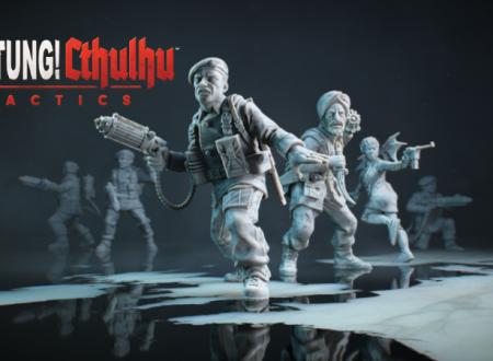 Achtung! Cthulhu Tactics – The Forest of Fear, il titolo è in arrivo il 24 gennaio su Nintendo Switch