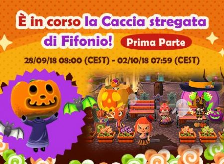 Animal Crossing: Pocket Camp: ora disponibile la Caccia Stregata di Fifonio