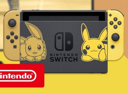Annunciato il Nintendo Switch Pikachu & Eevee Edition, nuovo trailer per Pokèmon Let's Go