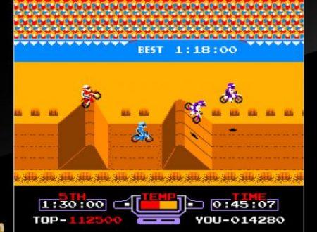 Arcade Archives VS. Excitebike: il titolo è in arrivo il 21 settembre sull'eShop di Nintendo Switch