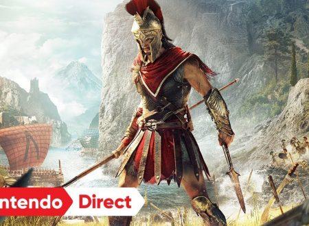 Assassin's Creed Odyssey Cloud Version è in arrivo sui Nintendo Switch giapponesi