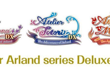 Atelier Arland Series Deluxe Pack è in arrivo il 4 dicembre su Nintendo Switch