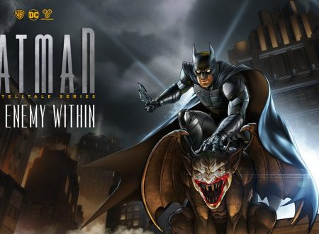 Batman: The Enemy Within, il titolo è in arrivo il 2 ottobre sui Nintendo Switch europei