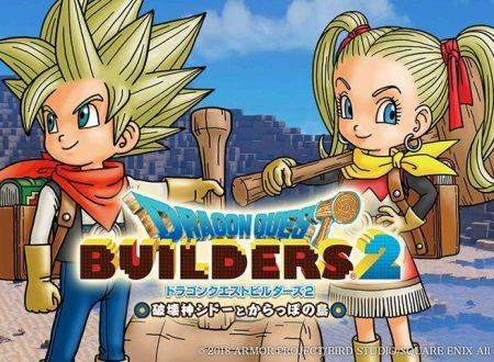Dragon Quest Builders 2: pubblicato un video gameplay off-screen dal TGS 2018